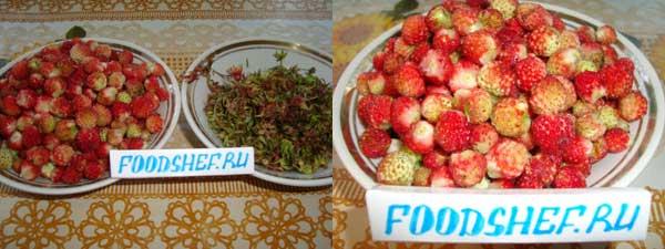 чистим ягоды