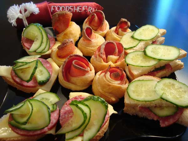 Бутерброды рецепты с фотографиями