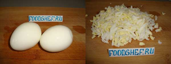 яйца соломкой