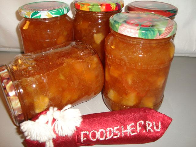 Варенье из яблок на зиму добльками без кожуры рецепт