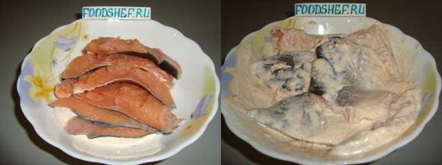 маринуем рыбу