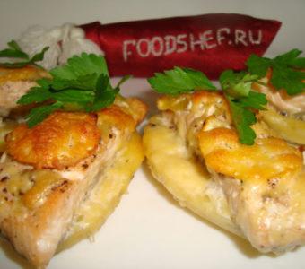 Как приготовить вкусно и сочно горбушу с картофелем в духовке