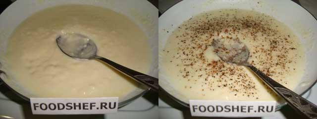 наливаем-молоко-в-соус