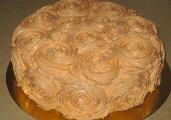 как украсить сметанный торт в домашних